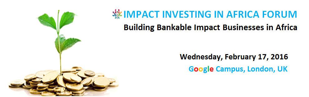 Alliance54 com   Impact Investing in Africa Forum 2016